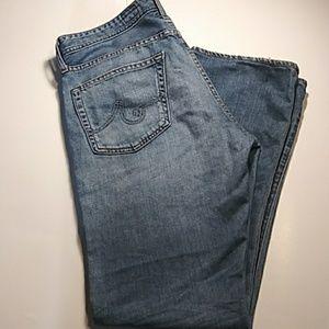 AG Goldshmied Jeans The Protégé Straight leg sz34